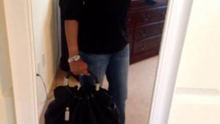 """Quick outfit of the day with my Michael Kors Skorpio ring tote"" Thumbnail"