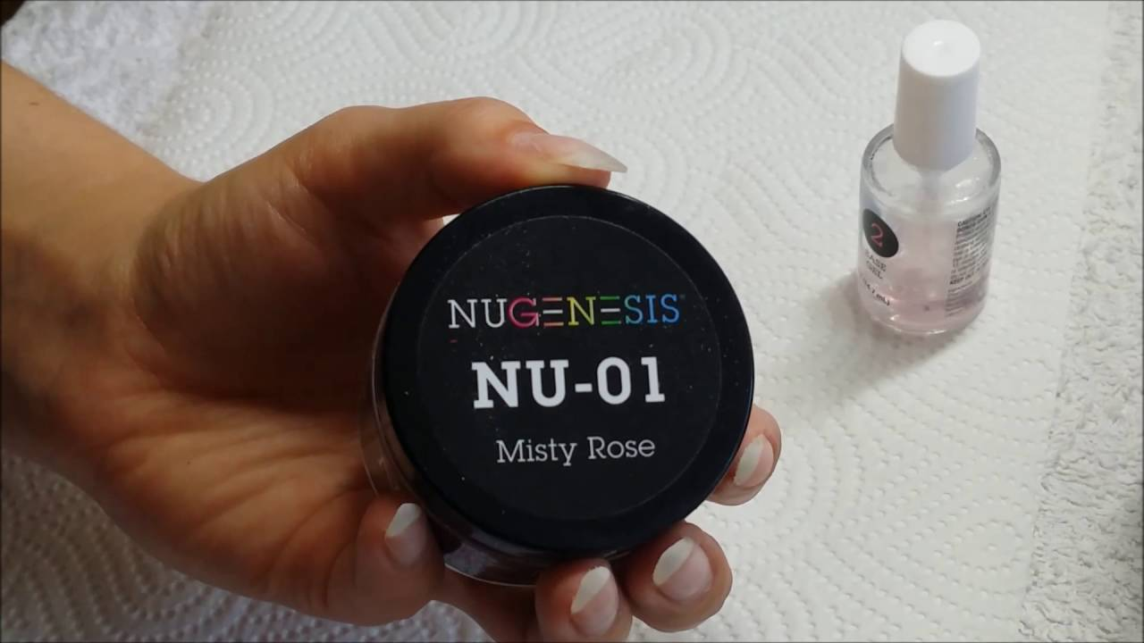 Traumzauber Nails: Dip Nails mit Zahnrad Airbrush | Nugenesis - YouTube