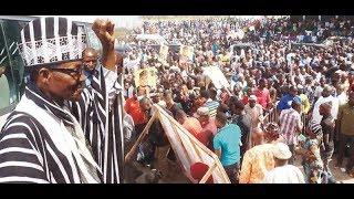 Mammoth Crowd as President Buhari Presents 2018 Budget (Part 1)