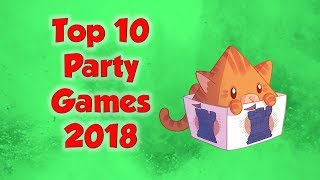 Top 10 Party Games of 2018