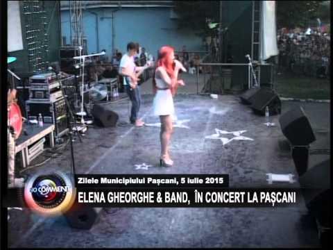 ZILELE MUNICIPIULUI PASCANI 5 IULIE 2015 -  ELENA GHEORGHE& BAND  IN CONCERT LA PASCANI