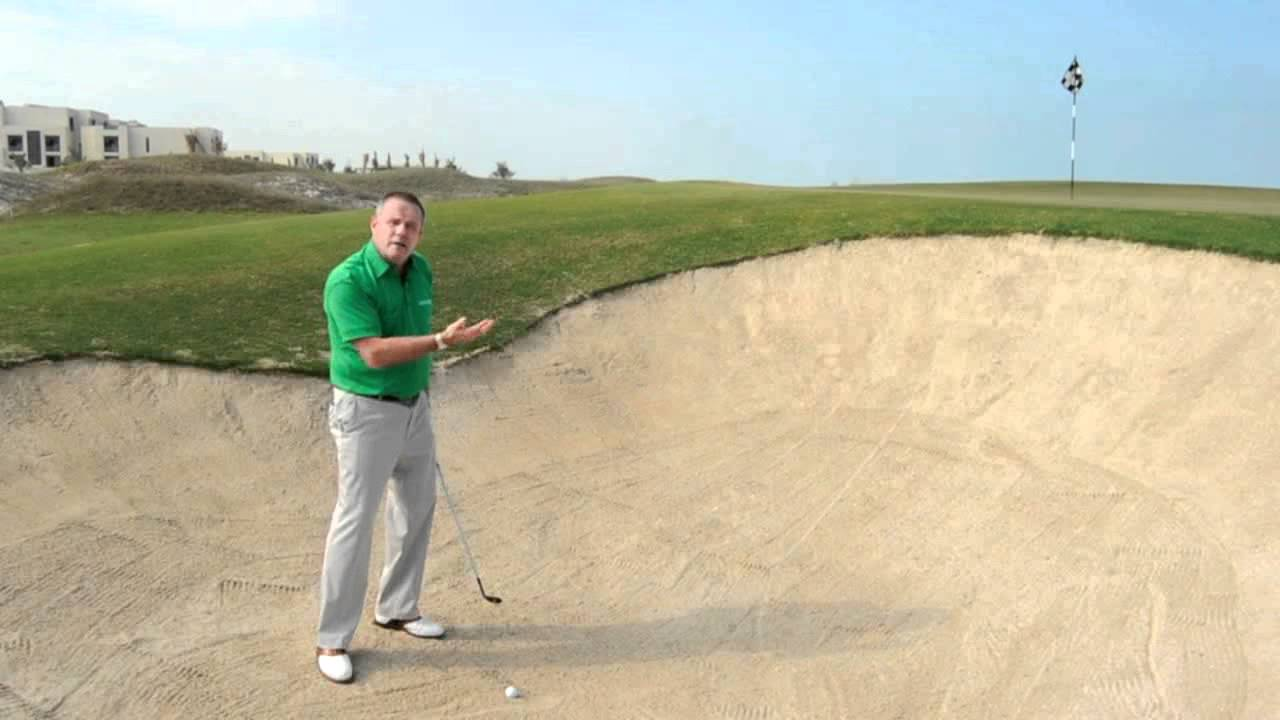 how to hit greenside bunker shots