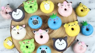 How to Make Mini Pokemon Donuts!