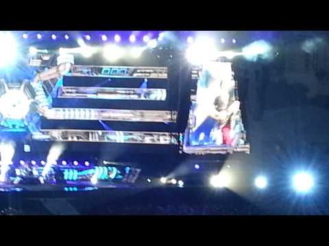 Ouverture concert live Muse 26 Juin 2013 Nice