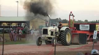 matt martin cockshutt 570 palmerston 2012 tractor pull 7500lb