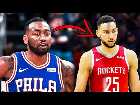 The Houston Rockets To Trade John Wall To Philadelphia For Ben Simmons If The 76ers Are Interested
