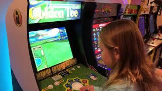 Gambar cover Arcade 1up golden tee gameplay