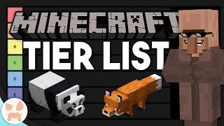 MINECRAFT TIER LIST - Ranking the Minecraft Mobs