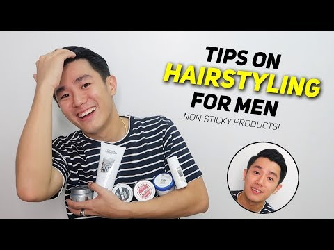 2018 HAIR STYLING for MEN (Tips & Techniques)