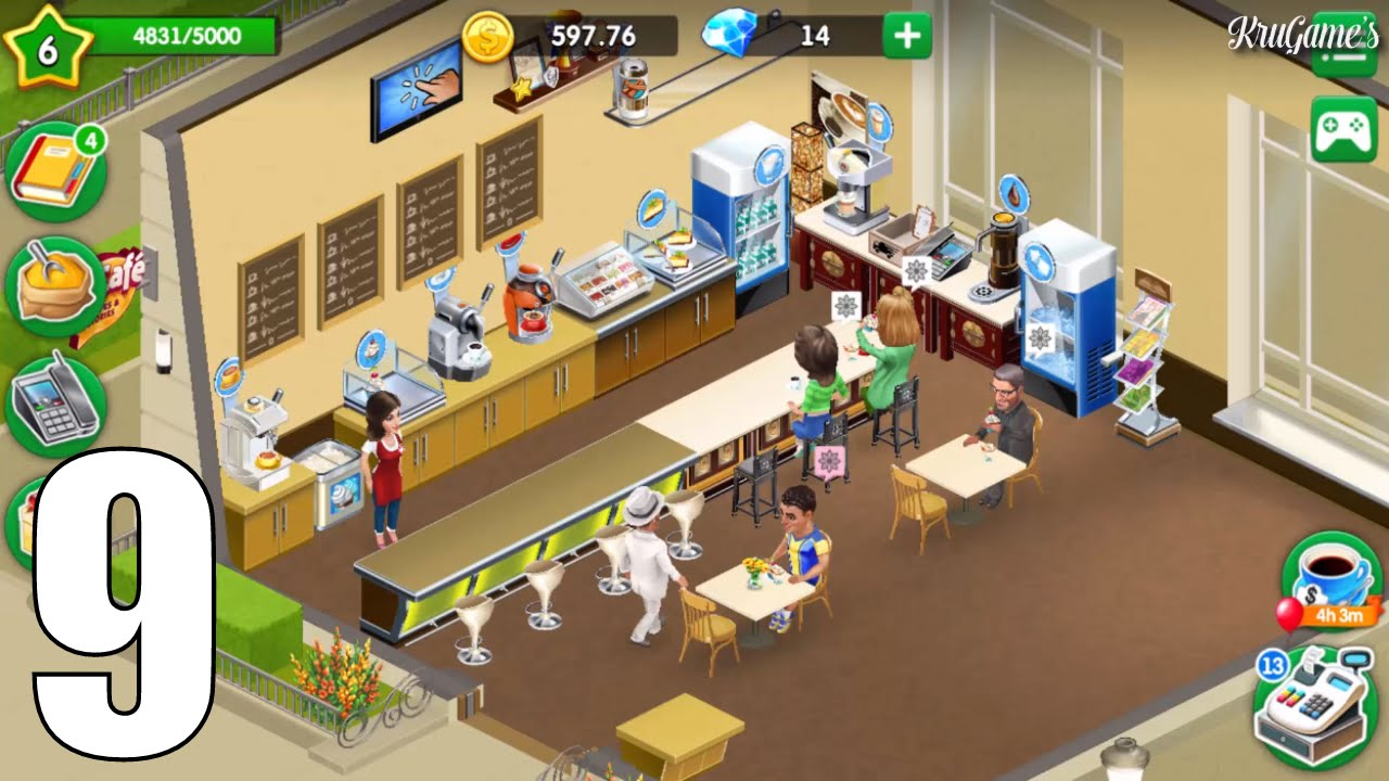 My Cafe: Recipes & Stories Android Gameplay #9