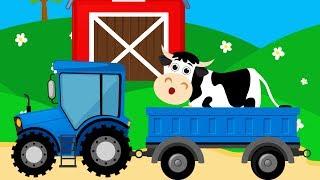 Мультик про Корову для Детей. Развивающий Мультфильм о Домашних Животных для Малышей.Видео для детей