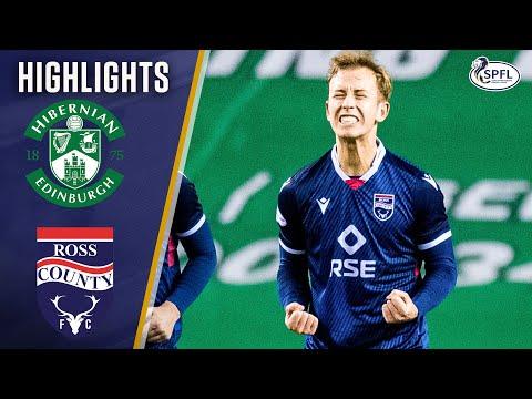Hibernian Ross County Goals And Highlights