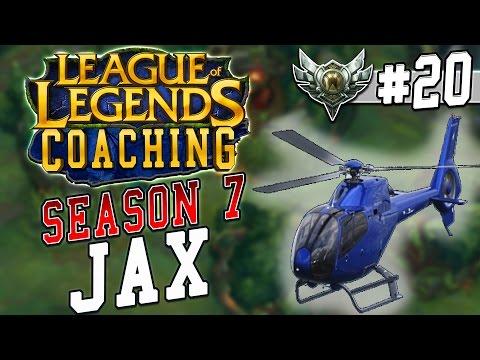 S7 LoL Coaching #20 - Jax top vs. Yasuo (Silver 4)