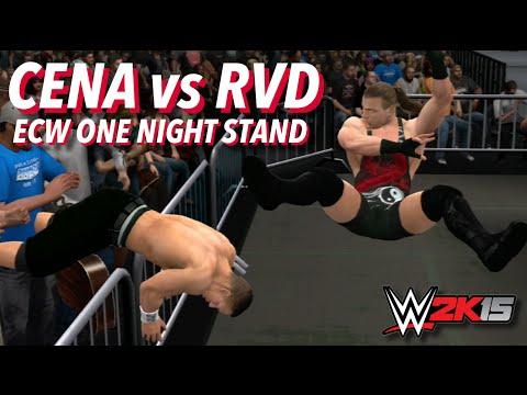 WWE 2K15 John Cena Vs Rob Van Dam (ECW One Night Stand)