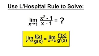Video Calculus - Application of Differentiation (23 of 60) L'Hospital's Rule Example 3 download MP3, 3GP, MP4, WEBM, AVI, FLV April 2018