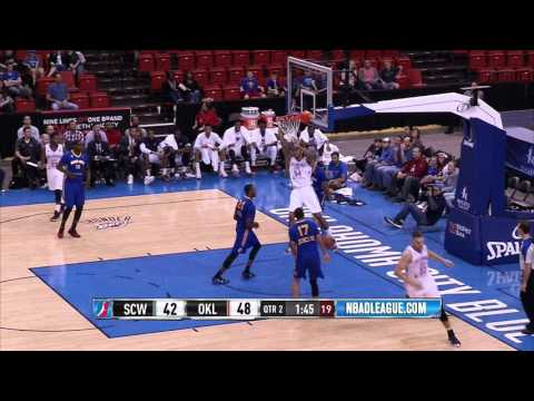 HIGHLIGHTS: Oklahoma City Blue (98) Fall to Santa Cruz Warriors (111)