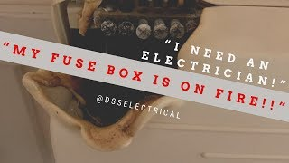 Can you help? My fusebox is smoking - Electrician in Cambridge