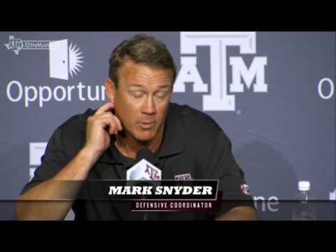 Mark Snyder: 09-14 Alabama Postgame