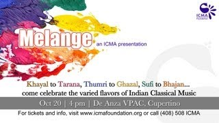 Melange - an ICMA presentation - on 20th Oct 2012