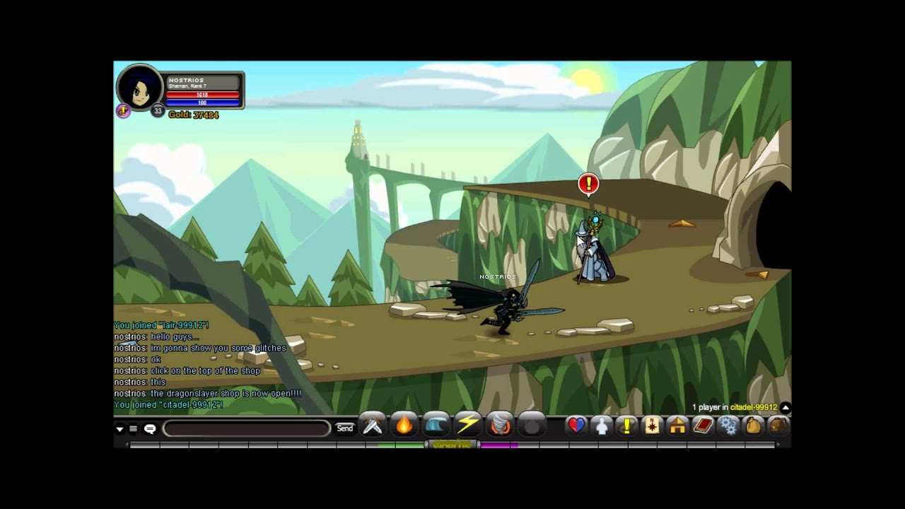 Download AQWORLDS- Lair and Citadel Glitch