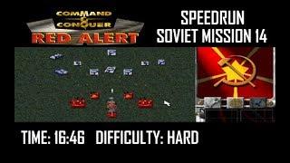 SPEEDRUN: C&C Red Alert - Soviets Mission 14 (Final Mission, Hard)