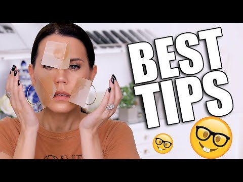 MAKEUP TOUCH-UP TIPS ... LOOK GOOD ALL DAY LONG!