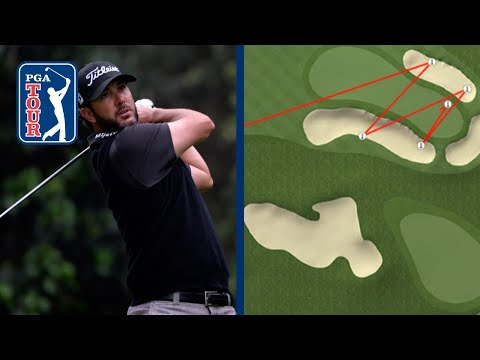 Bunker disaster for Scott Piercy at Genesis