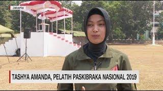 Tashya Amanda, Pelatih Paskibraka Nasional 2019