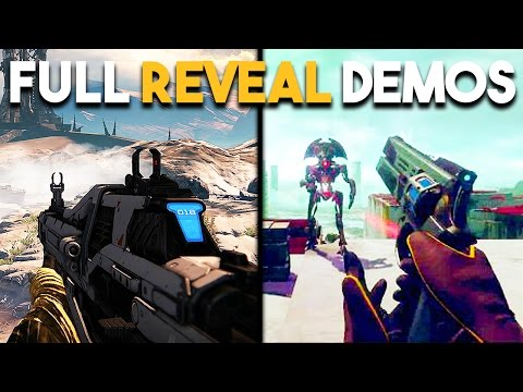 Destiny 1 VS Destiny 2 REVEAL Gameplay Comparison (Destiny 1 & Destiny 2 Graphics)