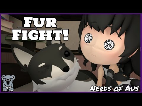Fur Fight!! RWBY Short - Blake & Zwei