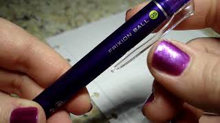 Pilot Frixion Ball Knock 0 5mm Erasable Pen