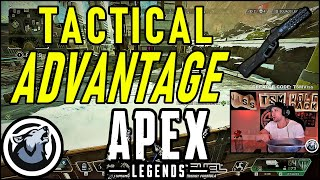 VISS TAKES HIGH GROUND AND ZONE ADVANTAGE! APEX LEGENDS SEASON 3
