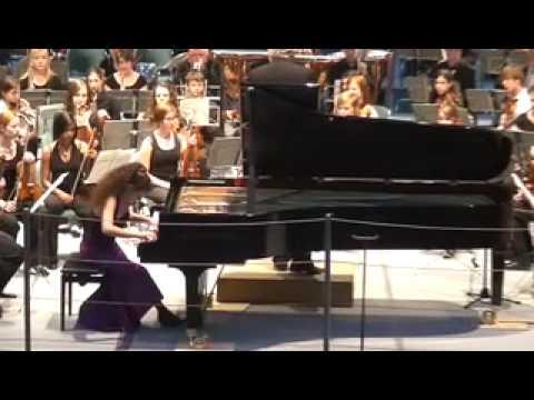 Hungarian Fantasy (Liszt) - Kiveli Dörken und das Jugendsinfonieorchester Dornbirn - Part 1