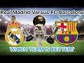Real Madrid VS FC Barcelona IN STATS!!!