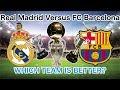 Real Madrid VS FC Barcelona IN STATS