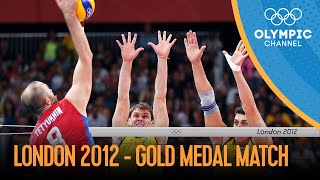 Volleyball - Russia vs Brazil - Men