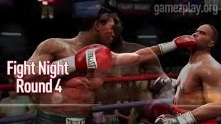 Fight Night Round 4 boxing video game screenshot trailer