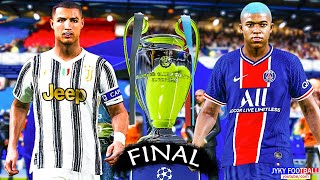 PES 2021 - PSG vs JUVENTUS - Final UEFA Champions League 2021 HD - Full Match -All Goals Gameplay PC