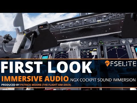 Immersive Audio NGX Cockpit Sound Immersion: The FSElite Video Review