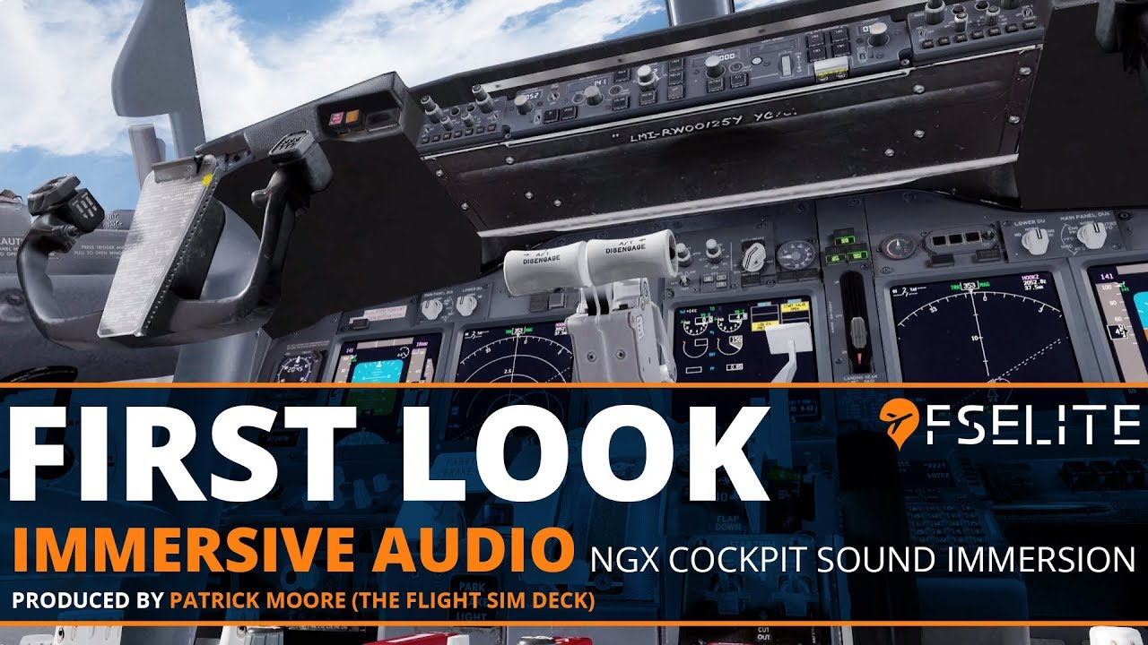 ngx cockpit sound immersion