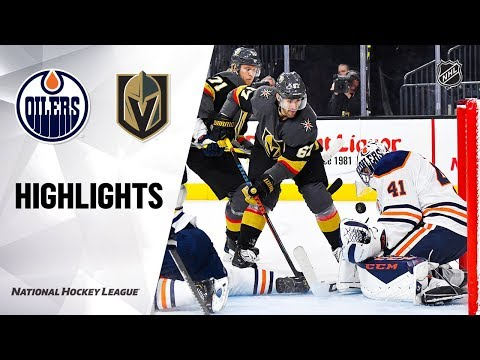 NHL Highlights   Oilers @ Golden Knights 11/23/19