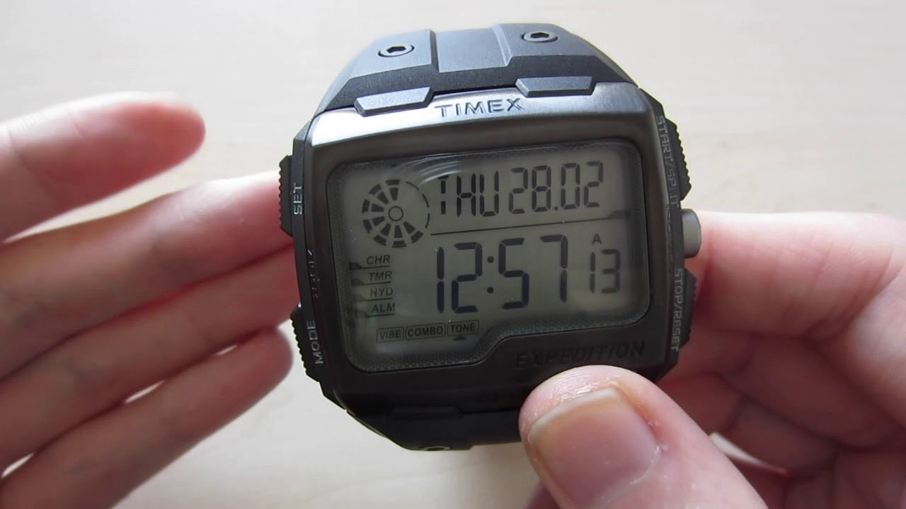 fada587e583c TIMEX Expedition Grid Shock TW4B02500 REAL FULL Review - YouTube