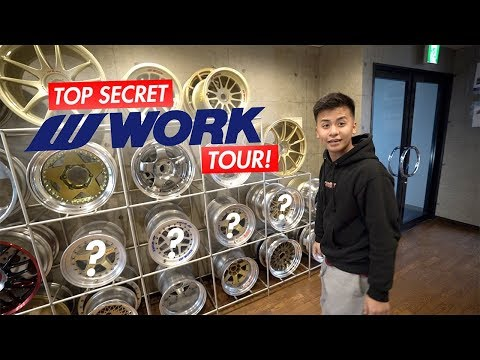 TOP SECRET Work Wheels Japan Tour!