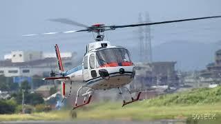 アエロスパシアルAS350B(JA9429)・名古屋2019.08.12