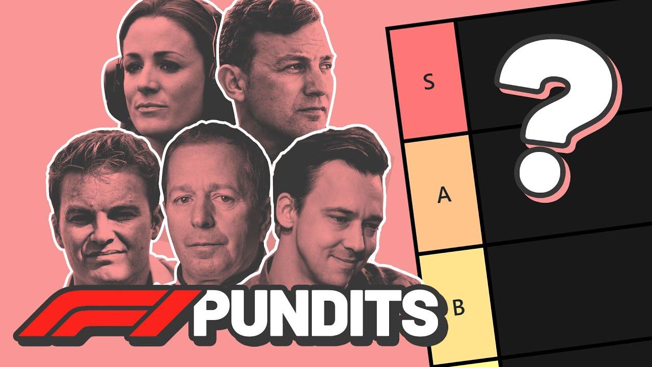 Formula 1 Commentator / Pundit Tier List