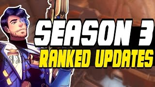 HOW SEASON 3 WILL WORK!! - Overwatch Season 3 RANKS CHANGE | Placement Matches - PTR
