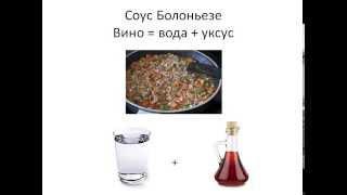 Кулинарная школа онлайн. Урок 3. Алкогольные напитки в рецептах