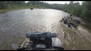 Усть-Катав. Горная река. Ночуем в лесу. день 1