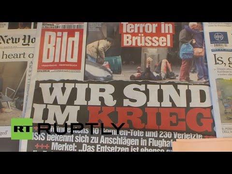 "Belgium: ""We are at war"" - International media focus on Brussels attacks"