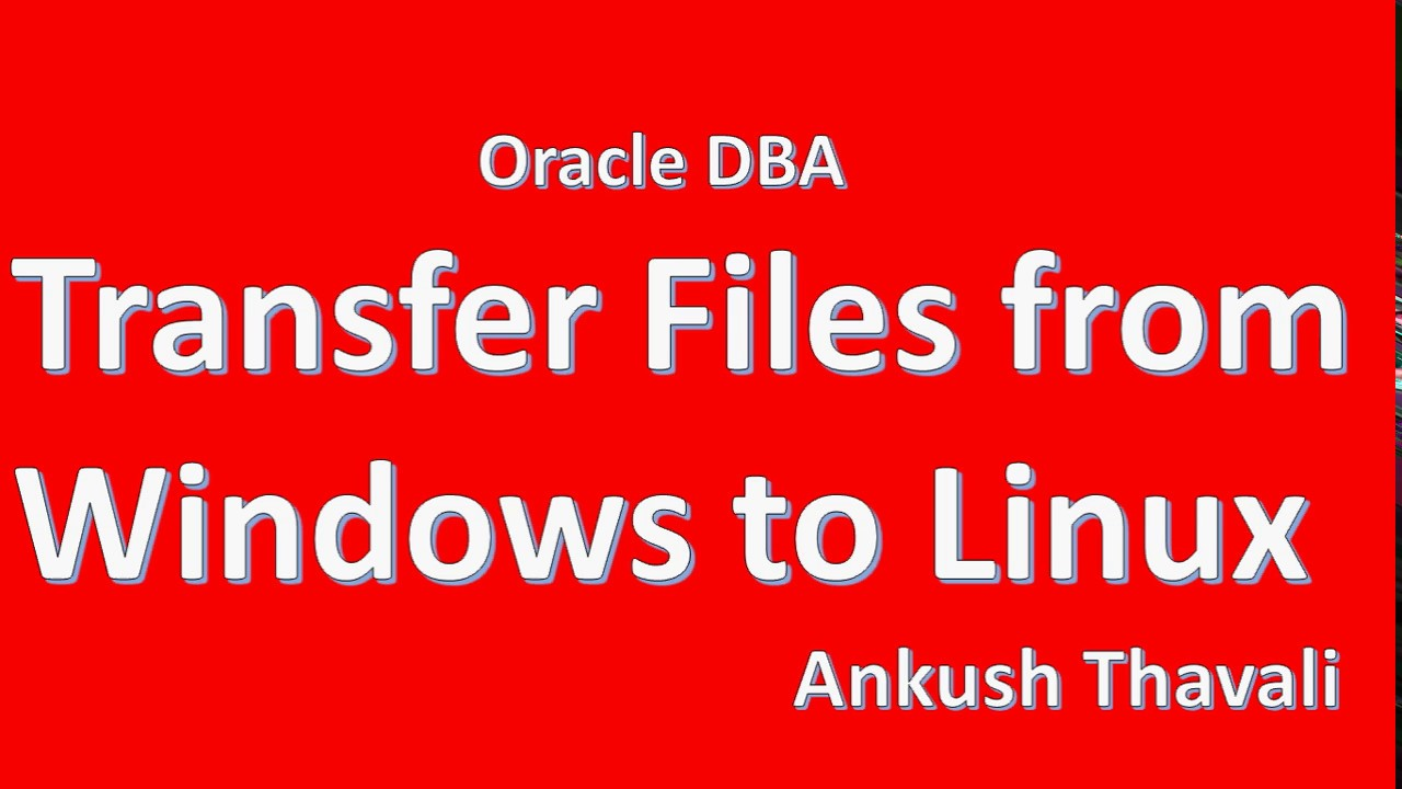 How to Transfer file from Windows to Linux-WinSCP